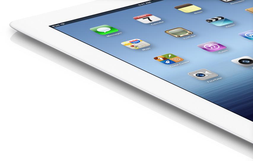 Обзор нового iPad