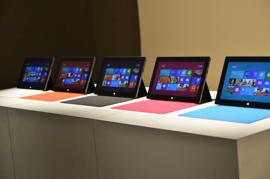 Предварительный обзор Microsoft Surface